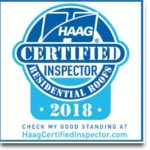 Haag Certified Inspector Residential Roofs 2018 New Roof Plus