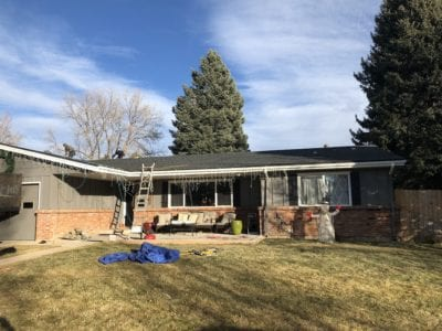 New roof installed on home in Colorado Springs, CO