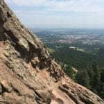 Boulder Co view from mountain