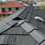 rubber roofing to look like Shake